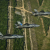 All three variants of the F-35 fly in May of 2014 near Eglin Air Force Base. The Air Force intends to use the F-35 in close air support operations. (US Air Force)